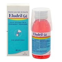 Eludril Gé solution bain de bouche 90ml