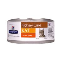Chat k/d Kidney Care poulet 156g