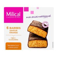 6 barres minceur orange