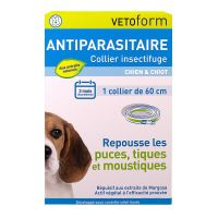 Collier insectifuge chien & chiot