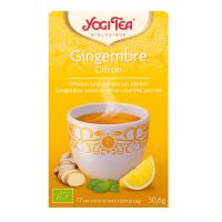 17 infusions gingembre citron