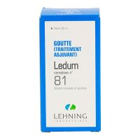 Ledum complexe n°81 solution buvable 30ml