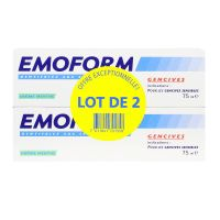 Emoform dentifrice gencives 2x75ml