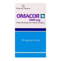 Omacor 1000mg 28 capsules