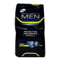 Men 20 protections absorbantes niveau 2