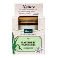 Happiness bougie parfumée mandarine vetiver