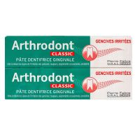 Arthrodont Classic dentifrice gingivale 2x75ml