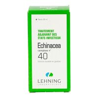 Echinacea complexe n°40 solution buvable 30ml