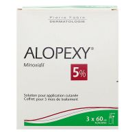 Alopexy 5% solution pour application cutanée 3x60ml
