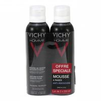 Homme mousse rasage 2x200ml