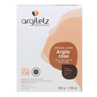 Argile rose masque & bain 200g