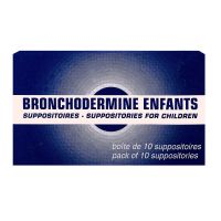 Bronchodermine Enfants 10 suppositoires
