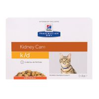 Chat k/d Kidney Care poulet 12x85g