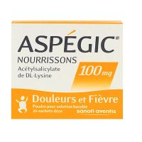Aspégic 100mg nourrisson 20 sachets