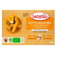 Petits boudoirs orange douce 120g