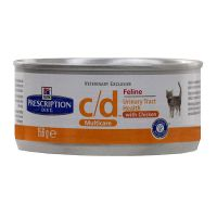 Chat c/d Urinary poulet 156g
