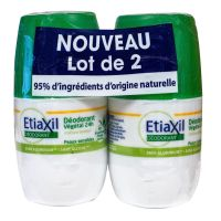 Déodorant végétal Roll-on 24h 2x50ml