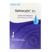 Ophtacalm 2% 10 unidoses