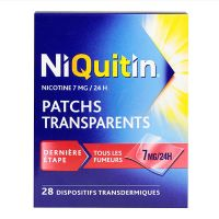 Patchs transparents 7mg - 28 patchs