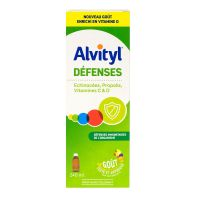 Défenses sirop goût multifruits 240ml