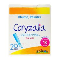 Coryzalia 20 solution buvable unidose