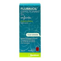 Fluimucil expectorant 2% enfants 100ml