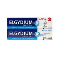 Dentifrice anti-plaque 2x75ml