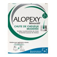 Alopexy 2% solution pour application cutanée 3x60ml