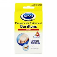 4 pansements traitement durillons