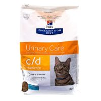 Chat c/d Multicare Urinary poisson