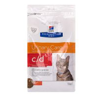 Chat c/d Urinary Care Urinary Stress poulet 1.5kg